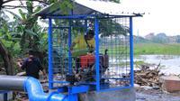 12 Pompa Satelit Mulai Dioperasikan di Tangerang untuk Sedot Banjir (Liputan6/Pramitha)