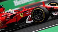 Ferrari dijadwalkan memperkenalkan mobil baru yang akan digunakan pada balapan F1 2018 pada 22 Februari mendatang. (AFP/Mark Thompson)