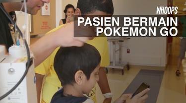 Bermain Pokemon Go bagi pasien anak dapat memberikan manfaat emosional seiring dengan meningkatnya interaksi sosial mereka.