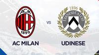 Liga Italia: AC Milan Vs Udinese. (Bola.com/Dody Iryawan)
