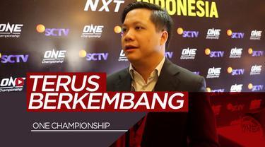 Berita video SCTV melihat One Championship yang terus berkembang dan dikenal di Indonesia.