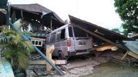 Kondisi Palu usai gempa Palu dan Donggala. (Twitter Sutopo Purwo Nugroho)