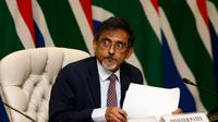 Menteri Perdagangan Afrika Selatan, Ebrahim Patel. (AFP)