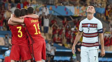 Foto Piala Eropa: Momen Terbaik Babak 16 Besar Euro 2020
