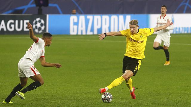FOTO: Borussia Dortmund Permalukan Sevilla di Liga Champions