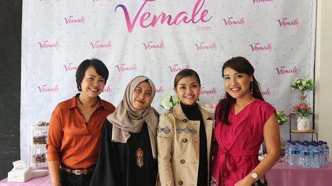 Empat wanita inspiratif yang mengisi event #imPOSSIBLE bersama vemale/copyright vemale.com