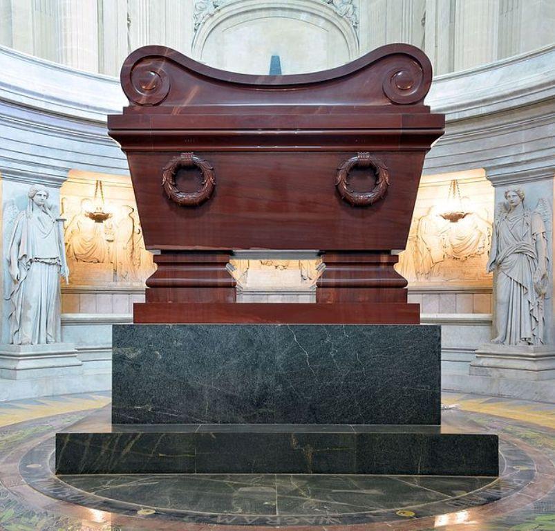 Makam Napoleon Bonaparte di Les Invalides (Wikipedia/CC BY-SA 4.0)