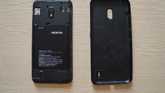 Nokia 2.2 (Foto: Andina Librianty/Liputan6.com)