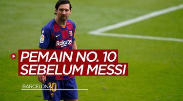 TikTok Bola.com kali ini membahas tentang pemain Barcelona yang menggunakan nomor punggung 10 sebelum Lionel Messi.