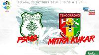 Liga 1 2018 PSMS Medan Vs Mitra Kukar (Bola.com/Adreanus Titus)