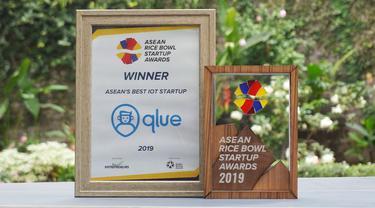 Qlue Raih Penghargaan Best IoT Startup di ASEAN Rice Bowl Startup Awards 2019