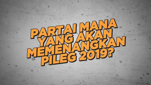 Lingkaran Survei Indonesia merilis hasil survei partai politik yang akan memenangkan Pileg 2019.