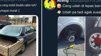 Meme perbaikan mobil (Brilio.net/@acengbanget)
