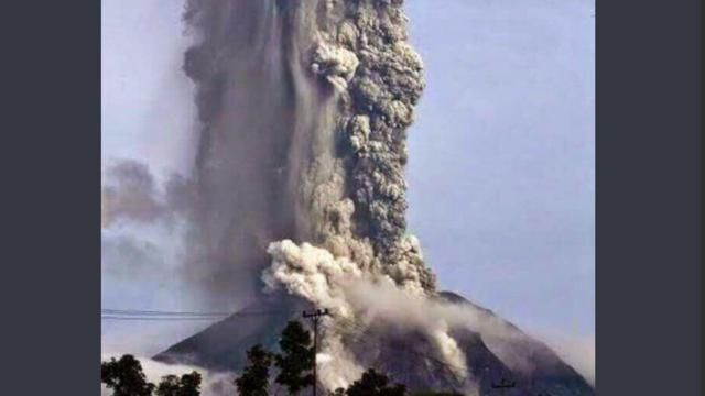 Video Dan Foto Gunung Soputan Meletus Ini Hoaks Jangan Disebar