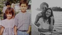 Potret Masa Kecil Pevita dan Keenan Pearce (Sumber: Instagram/@pevpearce/)