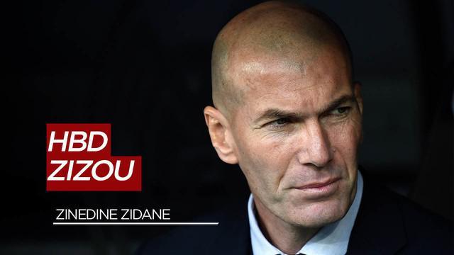 Berita Video Selamat Ulang Tahun Zinedine Zidane, Legenda Hidup Real Madrid