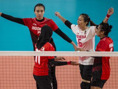 Voli Putri, Asian Games 2018, Thailand
