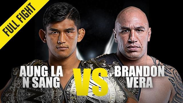 Berita Video Highlights Pertarungan Aung La Vs Brandon Vera dalam One Championship Century, Tokyo