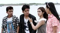 Suasana syuting Mermaid in Love 2 Dunia di Ancol. (Deki Prayoga/Bintang.com)