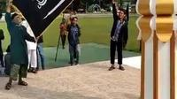 Kabareskrim Perintahkan Usut Pengibaran Bendera Hitam di Poso yang Viral. (Liputan6.com/Nafiysul Qodar)