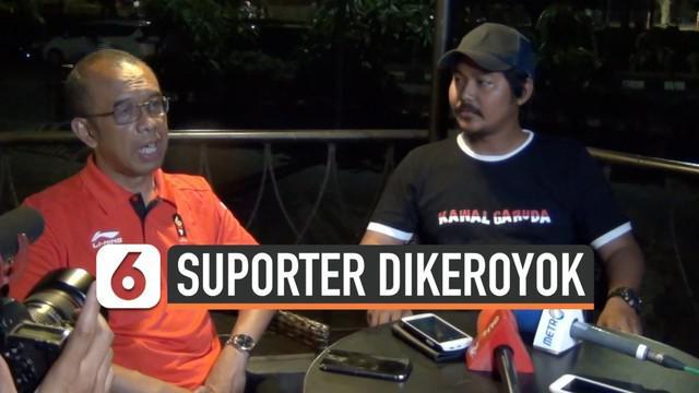Sesmenpora menemui suporter Indonesia yang diduga menjadi korban pengeroyokan di Malaysia. Kemenpora resmi mengirim nota protes kepada Malaysia.