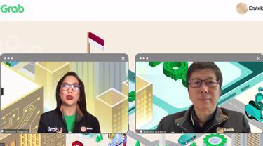 Peresmian Kerja sama Strategis Grab dan Emtek Berdayakan UMKM di Ekosistem Digital.