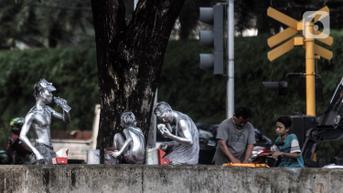 Pensiunan Polisi Terjaring Satpol PP Saat Jadi Manusia Silver, Kapolda Turun Tangan