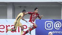 Pemain muda Bali United, I Gde Agus Mahendra. (Media Bali United