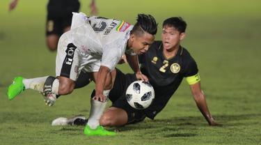 FOTO: Kushedya Hari Yudo Bawa Indonesia Unggul Atas Bali United di Babak Pertama