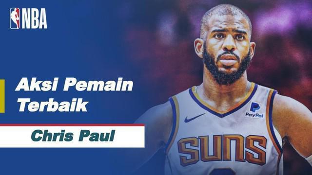 Berita video pemain terbaik hari ini adalah Chris Paul yang berhasil mengumpulkan 34 poin, sembilan rebound, dan sembilan assist dalam kemenangan 109-108 Phoenix Suns atas Dallas Mavericks
