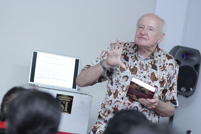 Acara peluncuran buku David Hanan. foto: DSP