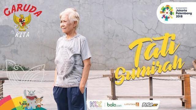 Berita video almarhumah legenda bulu tangkis putri Indonesia, Tati Sumirah, pernah mengungkapkan kebanggaan dirinya telah mengharumkan nama Indonesia.