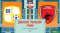 Shopee Liga 1 - Barito Putera Vs PSM Makassar (Bola.com/Adreanus Titus)