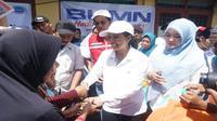 Menteri BUMN Rini Soemarno kunjungan kerja ke Banten (Foto: Dok Kementerian BUMN)