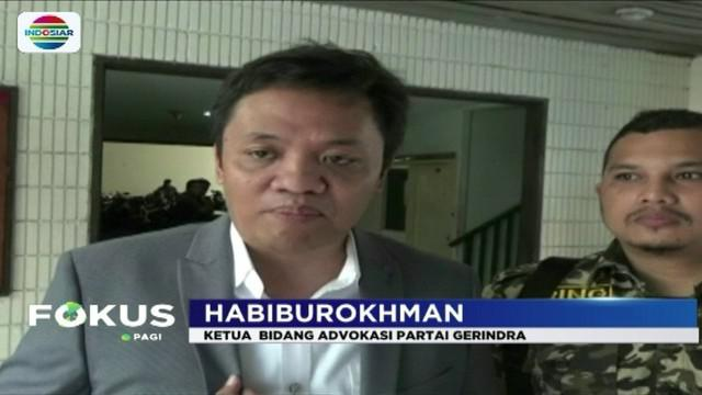 Ketua advokasi Partai Gerindra, Habiburokhman, laporkan sejumlah media karena dinilai telah menyudutkan nama Prabowo Subianto.