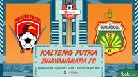 Shopee Liga 1 - Kalteng Putra Vs Bhayangkara FC (Bola.com/Adreanus Titus)