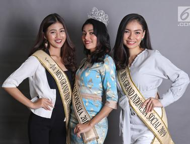 3 Sosok Cantik Finalis Miss Grand Indonesia 2019