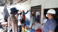 Listrik PLN terpasang di tambak udang yang milik petambak mandiri di Desa Adiwarna Kecamatan Dente Teladas Kabupaten Tulang Bawang Lampung. (PLN)
