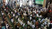 Masjid Raya Darussalam Samarinda tetap dipadati jamaah Salat Jumat.