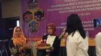 Asisten Deputi Pengembangan Wisata Budaya Kemenpar Oneng Setya Harini.