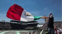 Autodromo Hermanos Rodriguez, tuan rumah F1 GP Meksiko yang berminat menggelar balapan MotoGP. (Motorsport)