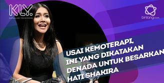 Kata-kata Denada untuk membesarkan hati Shakira Aurum.