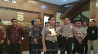 Irjen Pol Machfud Arifin Kapolda Jatim. (suarasurabaya.net/Anggi)