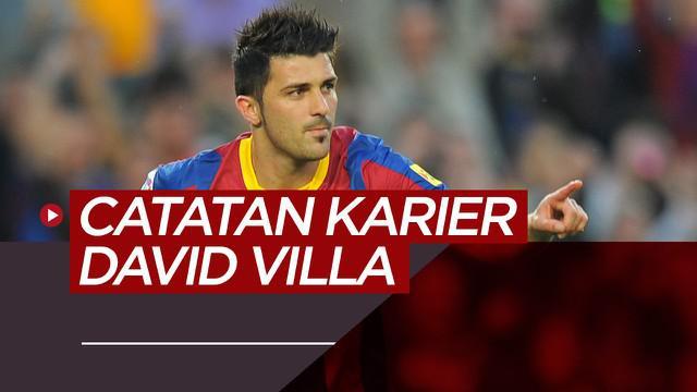 Berita video perjalanan karier David Villa, striker legendaris La Liga dan Timnas Spanyol.