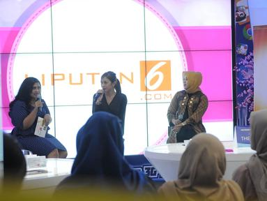 Rabu (19/11/2014), Liputan6.com mengadakan acara bulanan Women's Talk di XL Xplor – Senayan City Lt. 4, Jakarta. (Liputan6.com/Herman Zakharia)