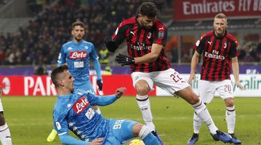 Piatek Impresif, AC Milan Lolos Ke Semifinal Coppa Italia