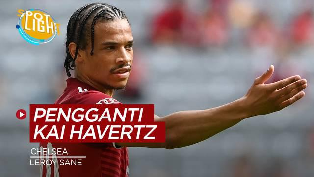 Berita video spotlight tentang empat pemain yang bisa menggantikan Kai Havertz di Chelsea.