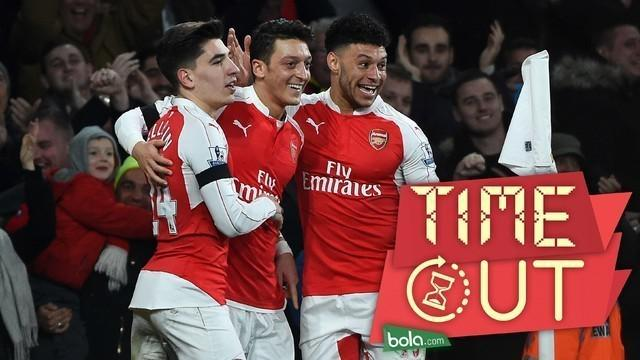 Arsenal meraih kemenangan 2-0 atas AFC Bournemouth dalam laga Premier League pekan ke-19, di Emirates, London, Selasa (29/12/2015) dini hari WIB.