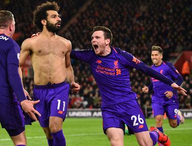 FOTO: Mohamed Salah Gemilang, Liverpool Buka Peluang Juara