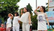Grup tari difabel G-Star tampil di Jakarta (23/2/2020).